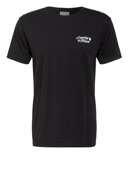 MARCELO BURLON T-Shirt RURAL, Farbe: SCHWARZ/ CREME (Bild 1)