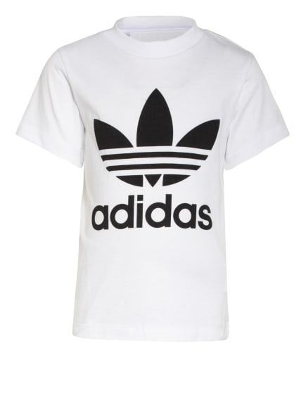 adidas Originals T-Shirt TREFOIL, Farbe: WEISS/ SCHWARZ (Bild 1)