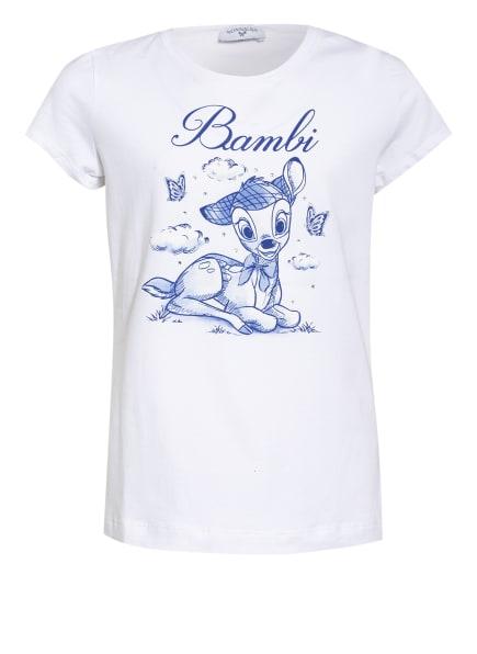 MONNALISA T-Shirt, Farbe: WEISS/ BLAU (Bild 1)
