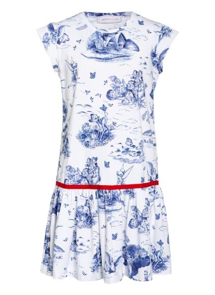 MONNALISA Jerseykleid, Farbe: WEISS/ BLAU (Bild 1)