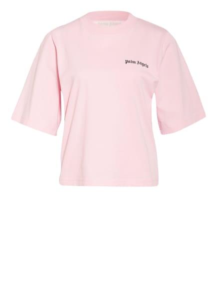 Palm Angels T-Shirt mit Galonstreifen, Farbe: ROSA/ SCHWARZ (Bild 1)