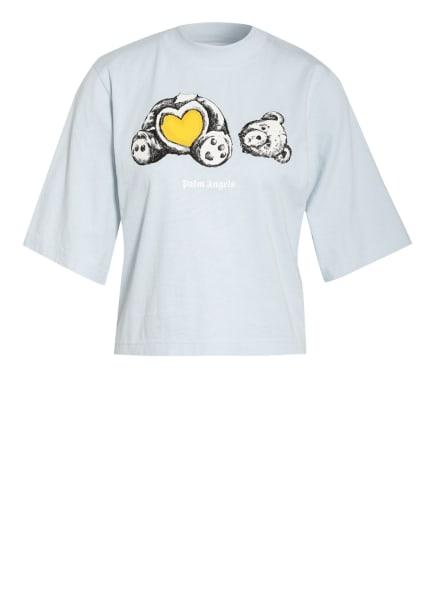 Palm Angels Cropped-Shirt, Farbe: HELLBLAU (Bild 1)