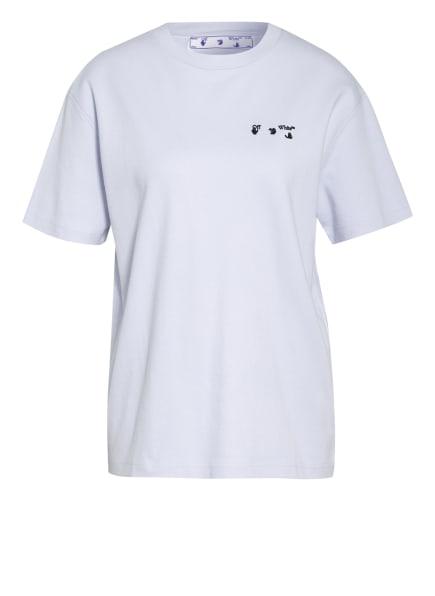 Off-White T-Shirt, Farbe: HELLBLAU (Bild 1)