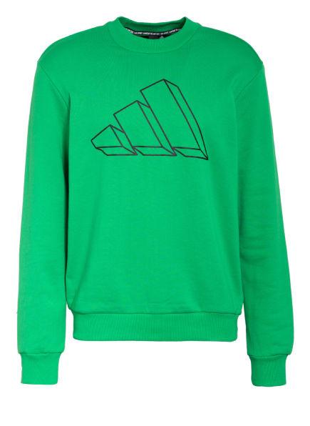 adidas Sweatshirt , Farbe: GRÜN (Bild 1)