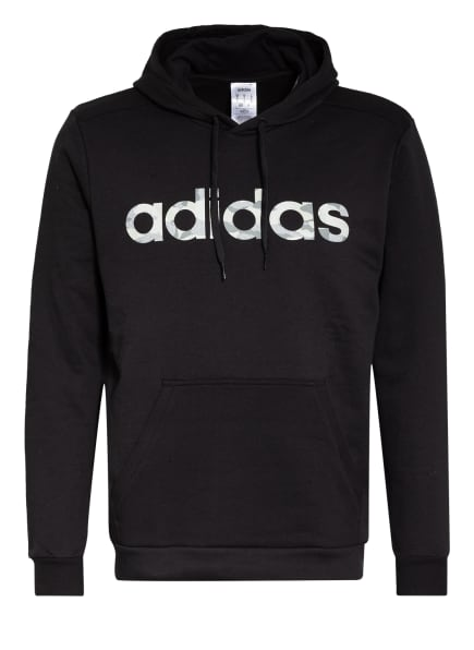adidas Hoodie , Farbe: SCHWARZ (Bild 1)