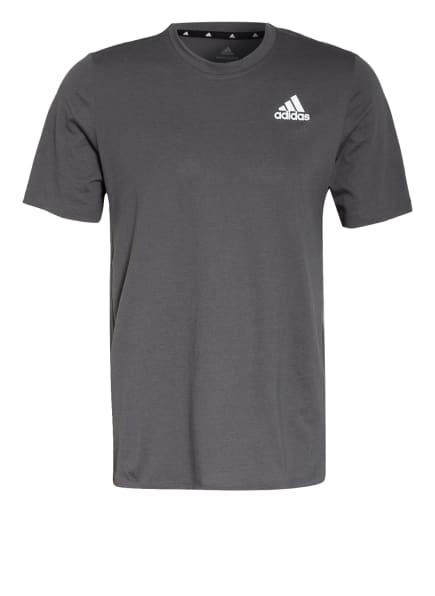 adidas T-Shirt DESIGNED 2 MOVE, Farbe: DUNKELGRAU (Bild 1)