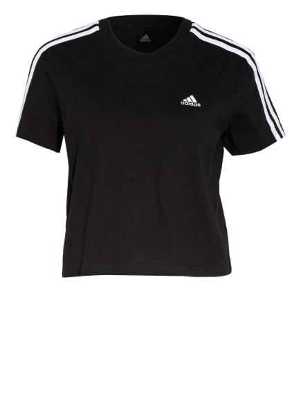 adidas T-Shirt ESSENTIALS, Farbe: SCHWARZ/ WEISS (Bild 1)