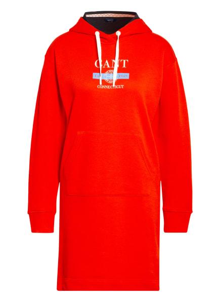 GANT Hoodie-Kleid, Farbe: ROT (Bild 1)