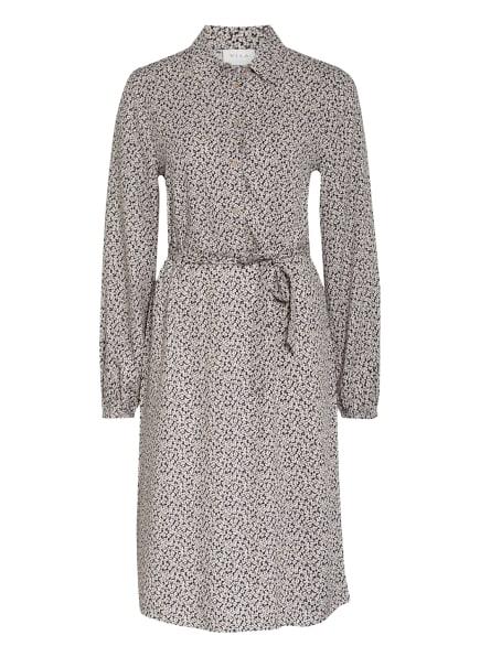 VILA Kleid, Farbe: CREME/ DUNKELBLAU (Bild 1)