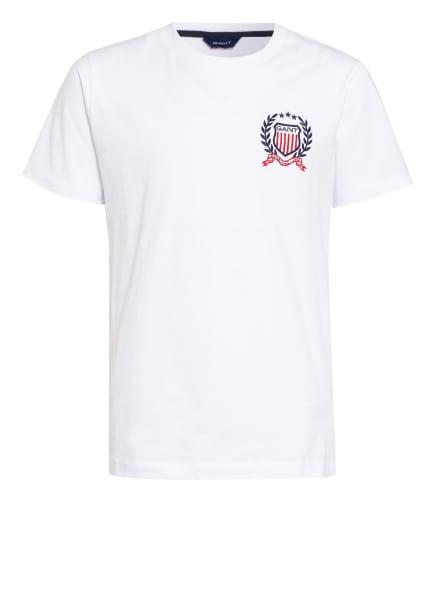 GANT T-Shirt, Farbe: WEISS (Bild 1)