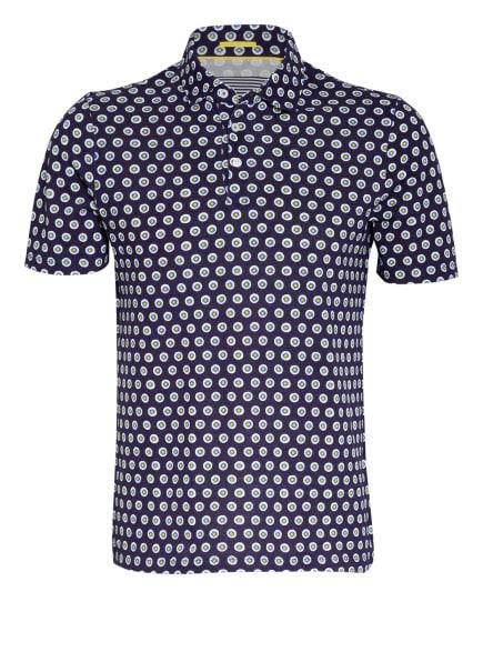 TED BAKER Piqué-Poloshirt EDANAME, Farbe: DUNKELBLAU/ WEISS/ BLAU (Bild 1)