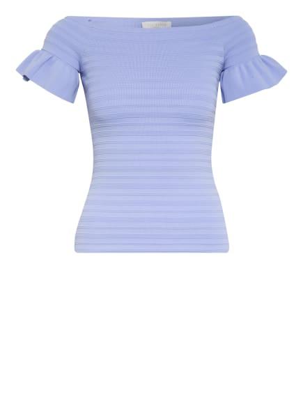 TED BAKER Off-Shoulder-Strickshirt, Farbe: HELLBLAU (Bild 1)