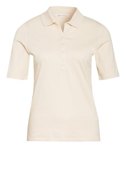 Marc O'Polo Jersey-Poloshirt, Farbe: ECRU (Bild 1)