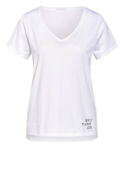 mey Lounge-Shirt Serie HOMESCHOOLING , Farbe: WEISS (Bild 1)