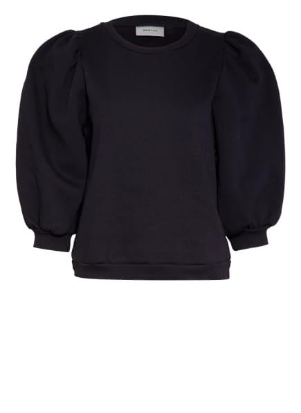 GESTUZ Sweatshirt NANKITAGZ mit 3/4-Arm, Farbe: SCHWARZ (Bild 1)