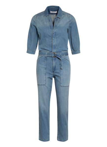 ba&sh Jeans-Jumpsuit mit 3/4-Arm, Farbe: BLAU (Bild 1)