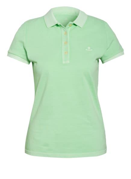 GANT Piqué-Poloshirt, Farbe: HELLGRÜN (Bild 1)