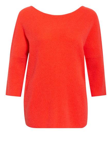 maje Cashmere-Pullover MADONE mit 3/4-Arm, Farbe: HELLROT (Bild 1)