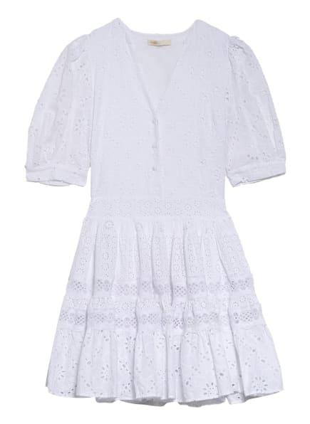 maje Kleid RAYANETTE aus Lochspitze, Farbe: WEISS (Bild 1)