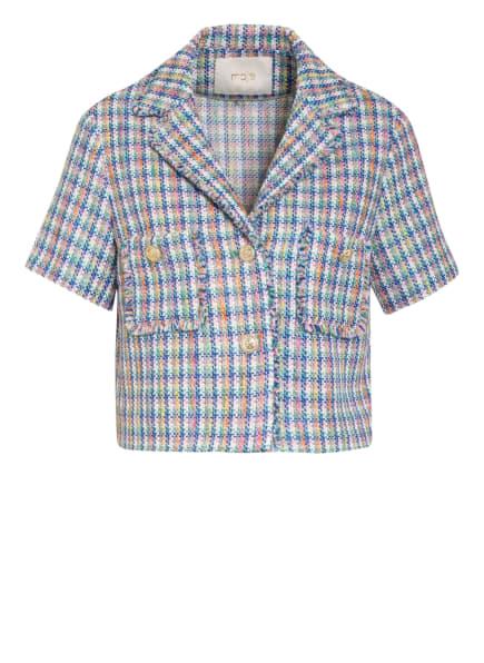 maje Tweed-Jacke VIZAM mit Glitzergarn , Farbe: WEISS/ BLAU/ ROSA (Bild 1)