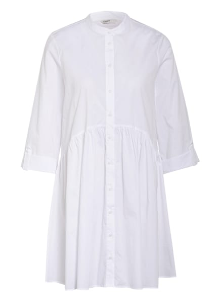ONLY Kleid mit 3/4-Arm , Farbe: WEISS (Bild 1)