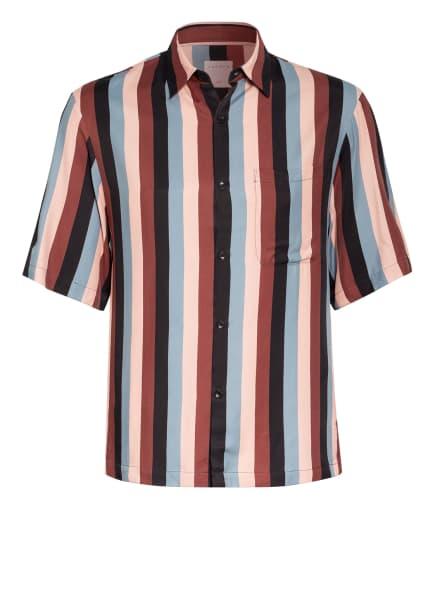sandro Kurzarm-Hemd Regular Fit, Farbe: BRAUN/ HELLORANGE/ SCHWARZ (Bild 1)