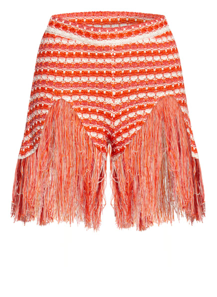ALANUi Shorts EMBASSY , Farbe: DUNKELORANGE/ WEISS/ LACHS (Bild 1)