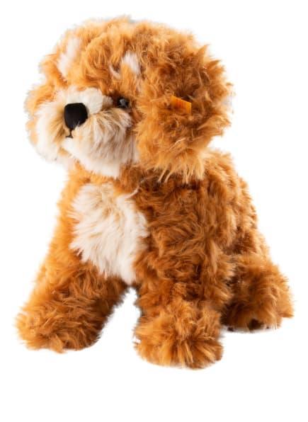 Steiff Hund-Kuscheltier CURLIE COCKAPOO, Farbe: HELLBRAUN (Bild 1)