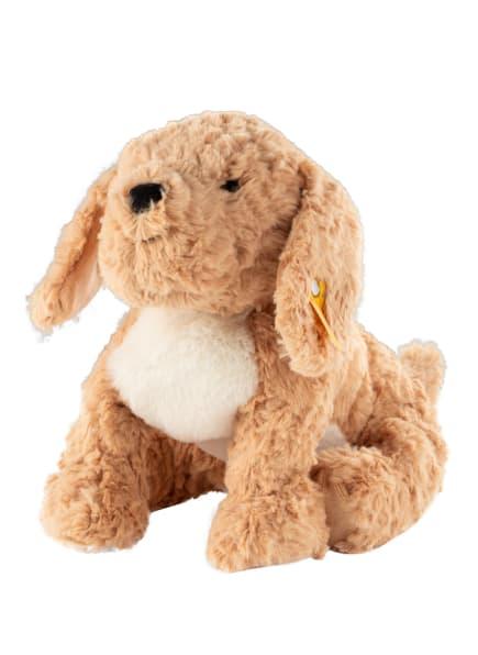 Steiff Hund-Kuscheltier BERNO GOLDENDOODLE, Farbe: BEIGE/ WEISS (Bild 1)
