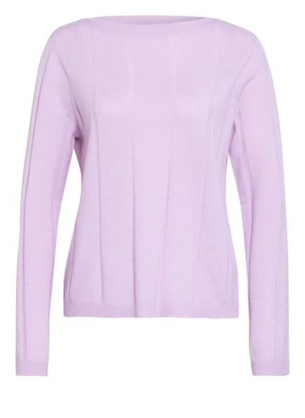 FTC CASHMERE Cashmere-Pullover, Farbe: HELLLILA (Bild 1)