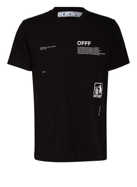 Off-White T-Shirt, Farbe: SCHWARZ/ WEISS (Bild 1)
