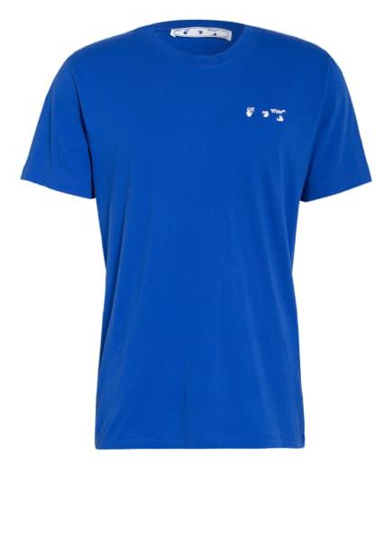 Off-White T-Shirt, Farbe: BLAU (Bild 1)