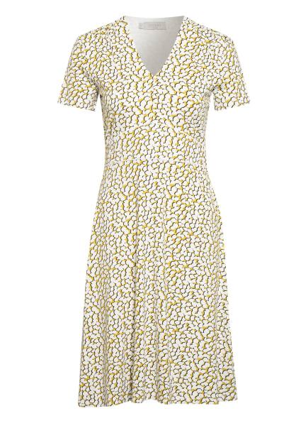 HOBBS Jerseykleid LINA, Farbe: OLIV/ WEISS/ DUNKELBLAU (Bild 1)
