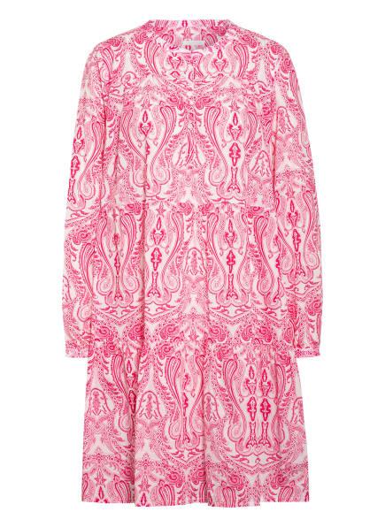 ROBERT FRIEDMAN Kleid ELVIRA , Farbe: WEISS/ PINK (Bild 1)