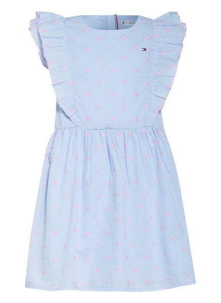 TOMMY HILFIGER Kleid, Farbe: BLAU/ HELLBLAU/ PINK (Bild 1)