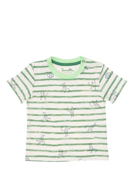 Sanetta KIDSWEAR T-Shirt, Farbe: GRÜN/ WEISS (Bild 1)