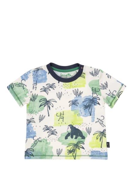 Sanetta KIDSWEAR T-Shirt, Farbe: WEISS/ HELLBLAU/ HELLGRÜN (Bild 1)