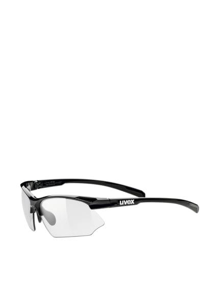 uvex Radbrille SPORTSTYLE 802 V, Farbe: SCHWARZ/ TRANSPARENT (Bild 1)