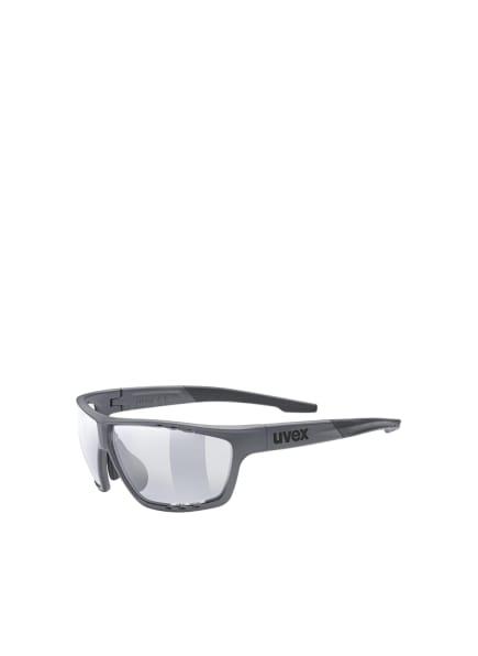 uvex Radbrille SPORTSTYLE 706 V, Farbe: 554- DUNKELGRAU/ TRANSPARENT (Bild 1)