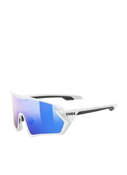 uvex Radbrille SPORTSTYLE 231, Farbe: 01388 - WEISS/ BLAU VERSPIEGELT (Bild 1)
