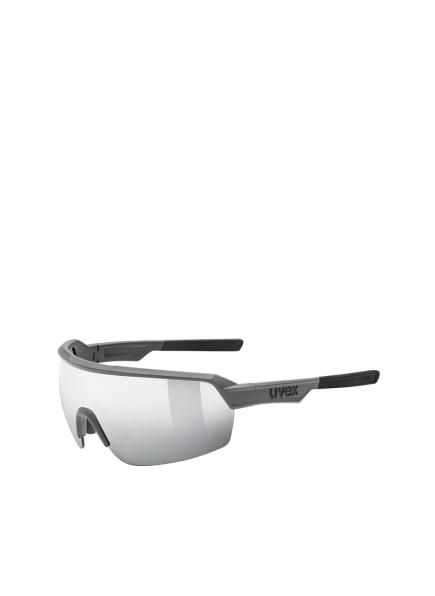 uvex Radbrille SPORTSTYLE 227, Farbe: 00738 - DUNKELGRAU/ SILBER VERSPIEGELT (Bild 1)