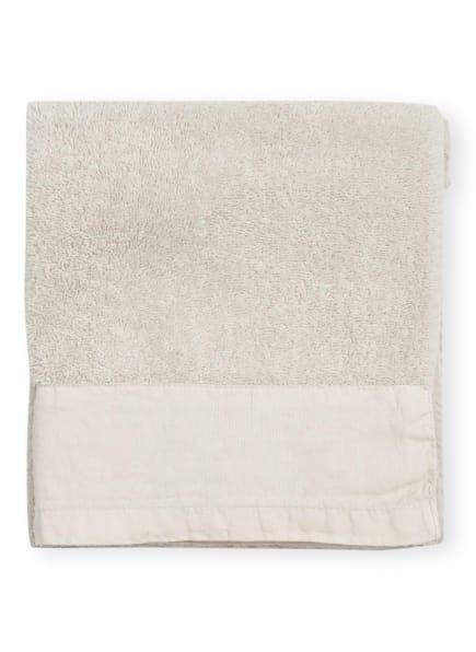 Marc O'Polo Handtuch LINAN, Farbe: CREME (Bild 1)