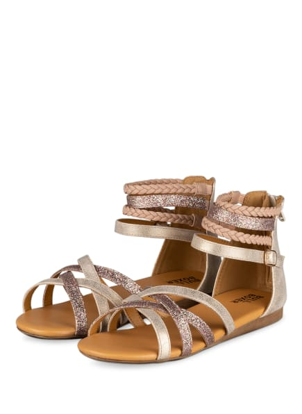 BULLBOXER Sandalen, Farbe: CREME/ ROSÉ (Bild 1)