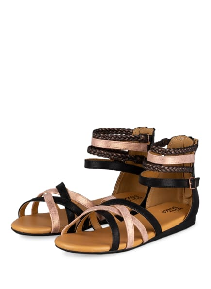 BULLBOXER Sandalen, Farbe: SCHWARZ/ ROSÉ (Bild 1)