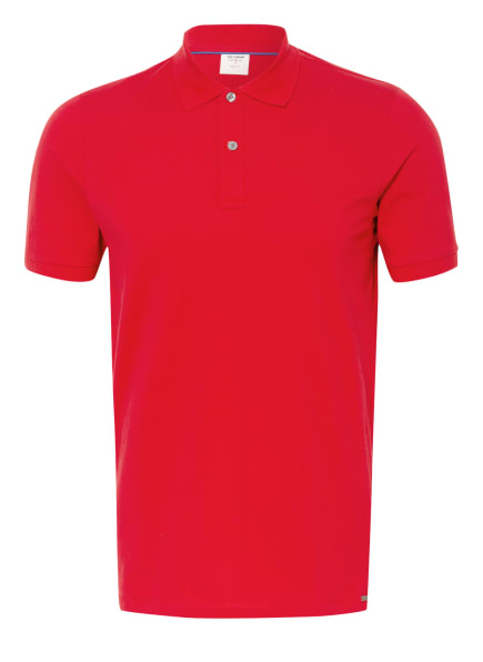 OLYMP Piqué-Poloshirt Level Five body fit, Farbe: ROT (Bild 1)