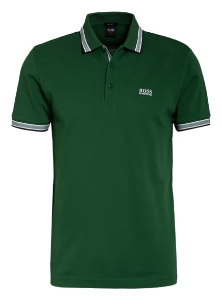 BOSS Piqué-Poloshirt PADDY Regular Fit, Farbe: GRÜN/ WEISS (Bild 1)