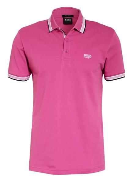 BOSS Piqué-Poloshirt PADDY Regular Fit, Farbe: PINK/ WEISS (Bild 1)