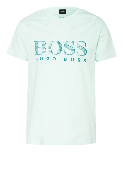 BOSS T-Shirt mit UV-Schutz 50+, Farbe: MINT/ DUNKELGRÜN (Bild 1)