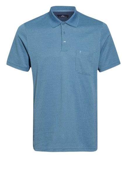 RAGMAN Piqué-Poloshirt, Farbe: BLAU (Bild 1)