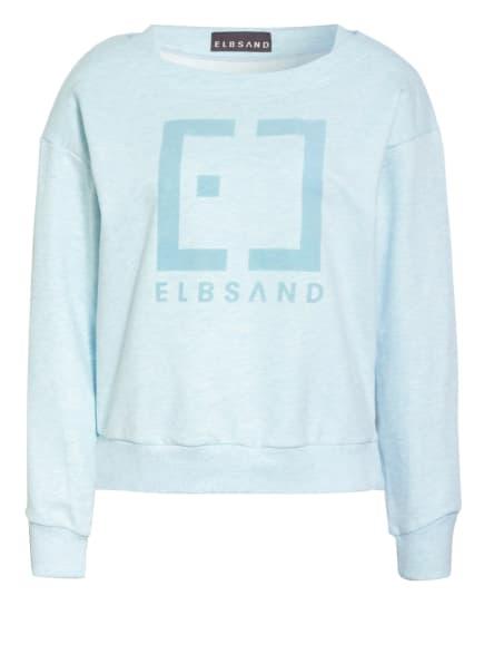 ELBSAND Sweatshirt FINNIA, Farbe: HELLBLAU/ TÜRKIS (Bild 1)